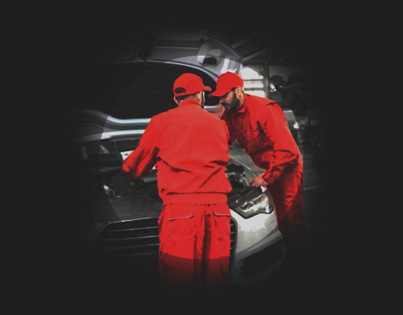warsztat samochodowy - mechanik